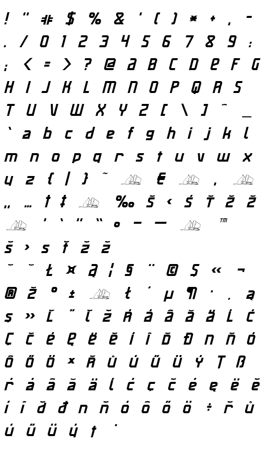 Mapa fontu Maas Slicer