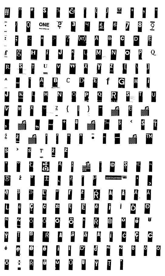 Mapa fontu Gubben I L