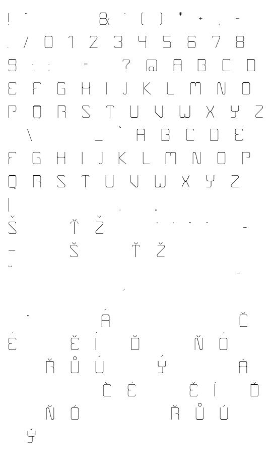 Mapa fontu Boulder