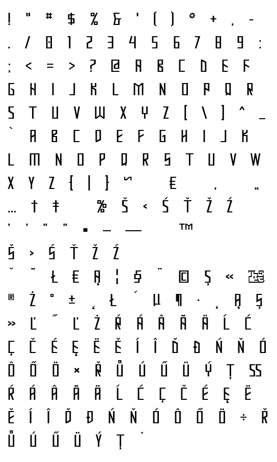 Mapa fontu Mastodon